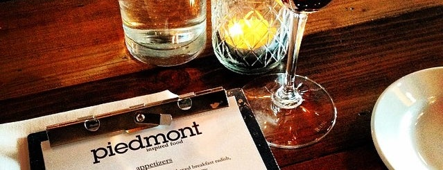 Piedmont Restaurant is one of The South's Tastiest Town: Durham, NC.
