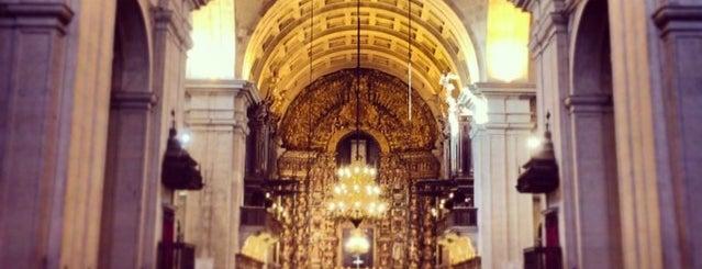 Sé Nova Catedral de Coimbra is one of Portugal.