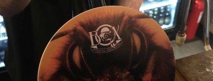 The Box Social is one of Locais curtidos por Carl.