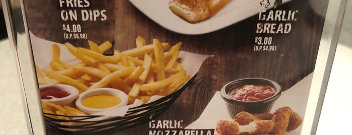 Pizza Hut is one of Sg.