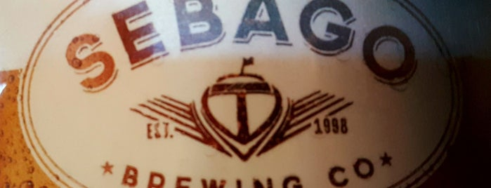 Sebago Brewing Company is one of Maine breweries.