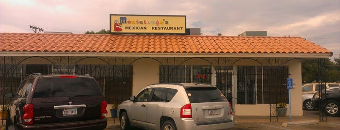 Montelongo's Mexican Restaurant is one of สถานที่ที่ Claudia ถูกใจ.