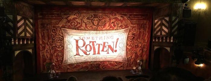 Something Rotten! is one of New York City.