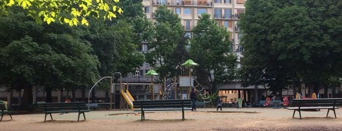 Jardins de la Porte de Saint-Cloud is one of Orte, die Yunus gefallen.