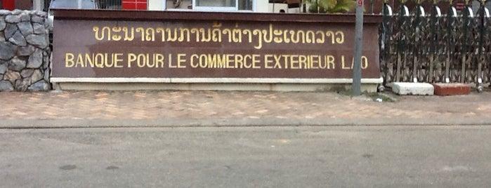 Banque pour le Commerce Exterieur Lao République is one of 高井'ın Beğendiği Mekanlar.