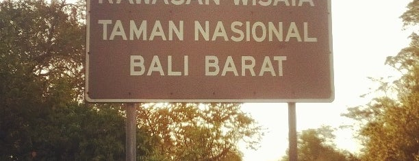 Taman Nasional Bali Barat is one of Enjoy Bali Ubud.
