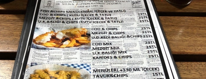 Pae's traditional fish & chips is one of Alp: сохраненные места.
