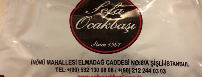 Sefa Ocakbaşı ( Tarsus Ocakbaşı ) Since 1987 is one of Food / Istanbul.