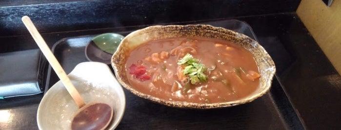 麺家まつふく is one of 地域振興|豊橋うどん60ヶ所巡り.