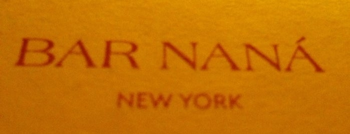 Bar Naná is one of Smart Cocktails in NYC.