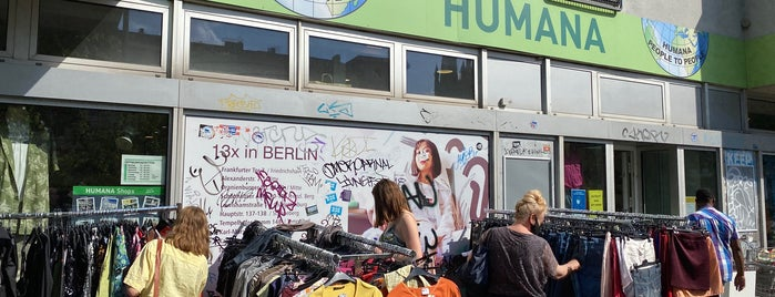Humana Secondhand is one of BK to Berlin.
