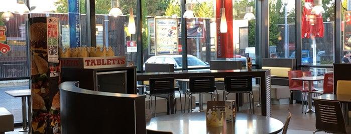 Burger King is one of Orte, die Thomas gefallen.