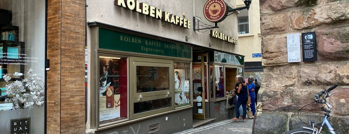 Kolben Kaffee Akademie is one of Cafés.