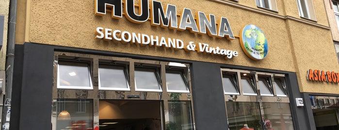 Humana Vintage is one of Locais curtidos por Julius.