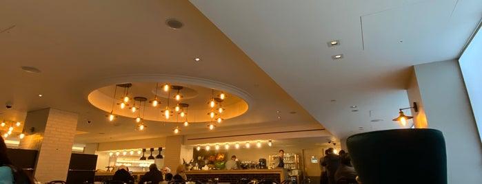 Harrods Café is one of Best in london.