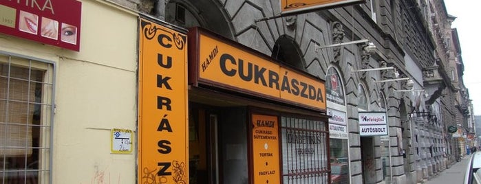 Hamdi cukrászda - pâtisserie is one of สถานที่ที่ O ถูกใจ.