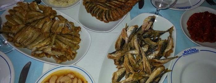 Marina Et ve Balık Restaurant is one of Gözde 님이 저장한 장소.
