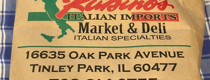 Rubino's Italian Imports is one of places to visit.