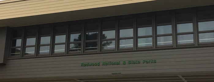 Redwoods National Park Information Center is one of Carl: сохраненные места.