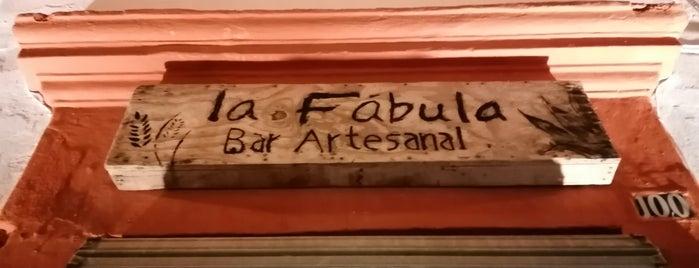 La Fábula (food+book+beer) is one of Juan : понравившиеся места.