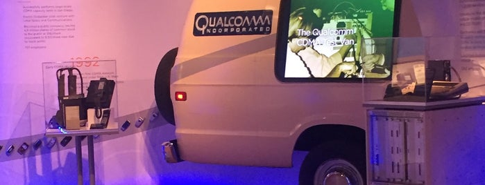 Qualcomm Museum is one of Visit to San Diego.
