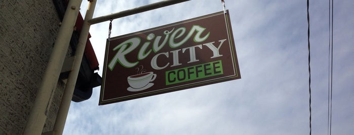 River City Coffee is one of Sarahさんの保存済みスポット.