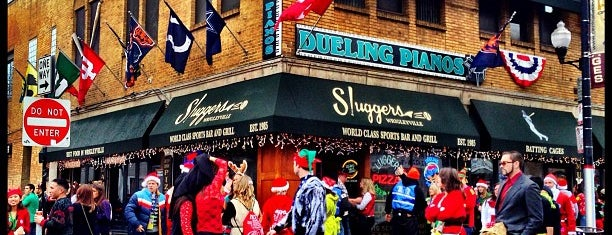 Sluggers World Class Sports Bar and Grill is one of Official Blackhawks Bars.