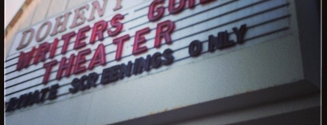 Writers Guild Theater is one of Los Angeles.