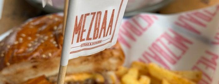 MEZBAA Steak&Burger is one of Istanbul.