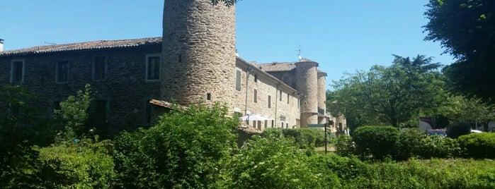 Sainte-Croix-en-Jarez is one of Les plus beaux villages de France.
