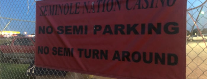 Seminole Nation Travel Plaza is one of Native American Cultures, Lands, & History.