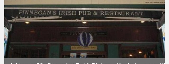 Finnegan's is one of To Visit Soon.