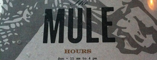 The Mule is one of Oklahoma places! Favs and must try!.