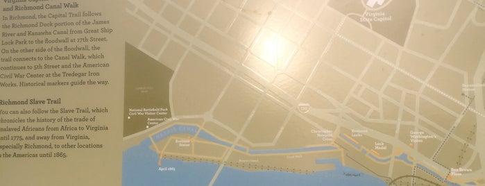 Virginia Capital Trail Richmond Start is one of Lieux sauvegardés par Tiffany 🔥.