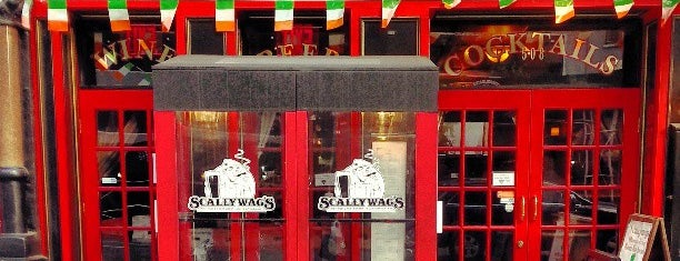 Scallywag's Bar & Grill is one of Tempat yang Disimpan Lina.