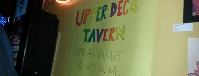 Upper Deck Tavern is one of Charleston.