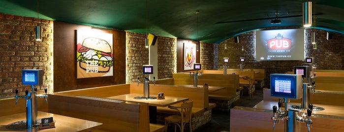 The Pub is one of Navštiv 200 nejlepších míst v Praze.