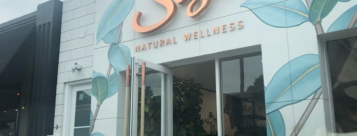 Saje Natural Wellness is one of LA Stroll.