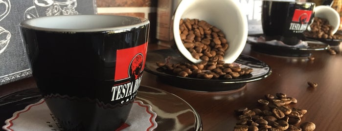 Testa Rossa Caffé is one of İzmir.