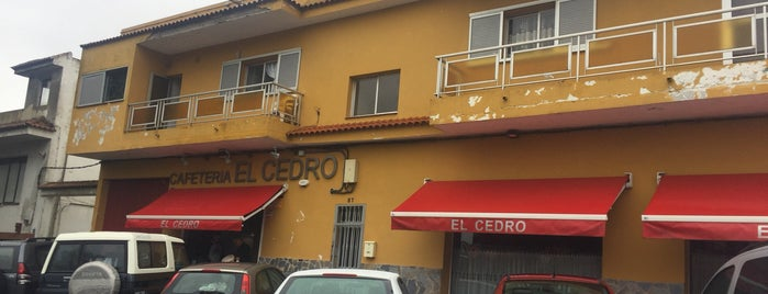 El Cedro is one of Tenerife: desayunos y meriendas.