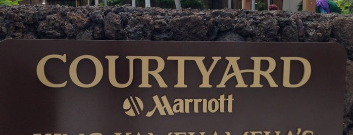 Courtyard by Marriott King Kamehameha's Kona Beach Hotel is one of Locais curtidos por Andy.