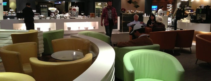 SATS Premier Lounge is one of Stayed already.