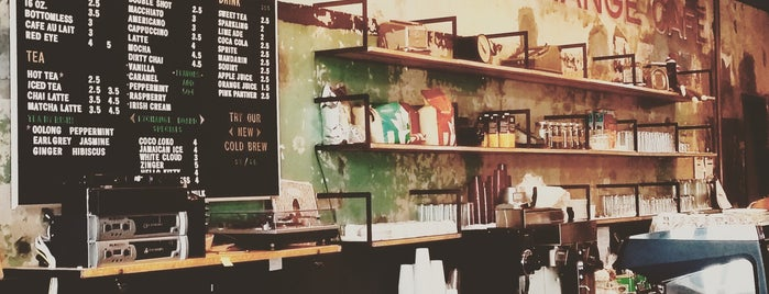 Currency Exchange Café is one of Coffee Places_Chicago.
