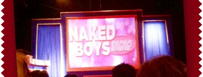 Naked Boys Singing is one of New York Check list.