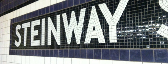 MTA Subway - Steinway St (M/R) is one of Rugi's New York.