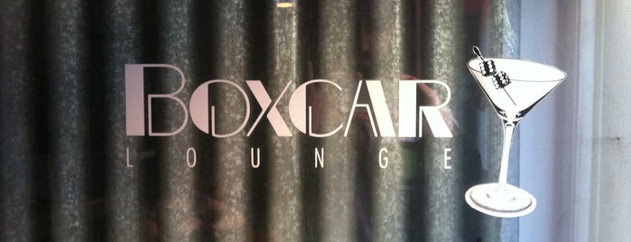 Boxcar Lounge is one of Drinkup - Monday's a Holiday!.