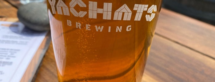 Yachats Brewing + Farmstore is one of Breweries I've been to..