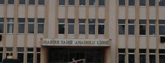 Habire Yahşi Anadolu Lisesi is one of Dilaraさんの保存済みスポット.