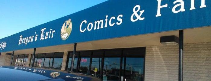 Dragon's Lair Comics is one of Austin.