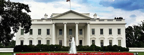 The White House is one of Tempat yang Disukai Naked.